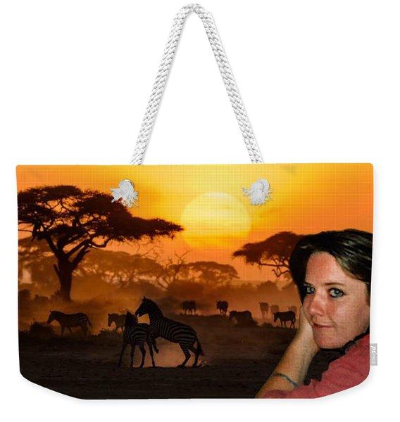 Nature Joy  Weekender Tote Bag