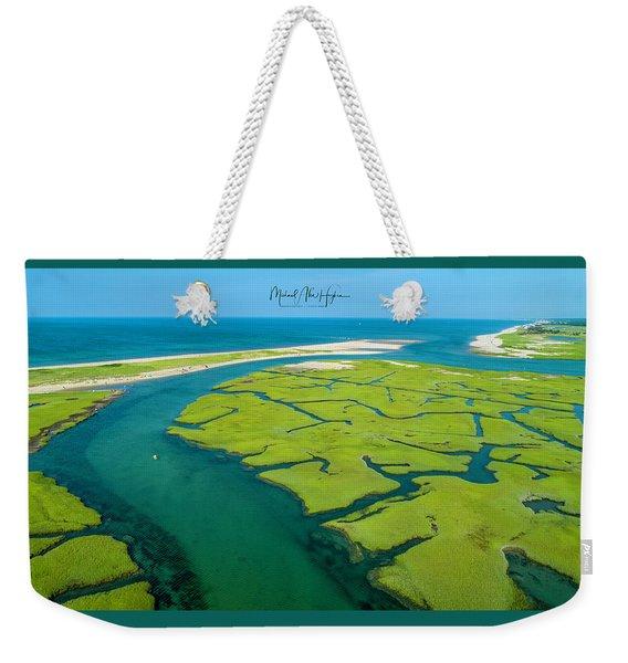 Nature Kayaking Weekender Tote Bag