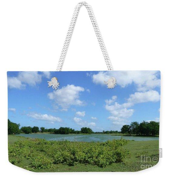 Nature, Land And Sky Weekender Tote Bag