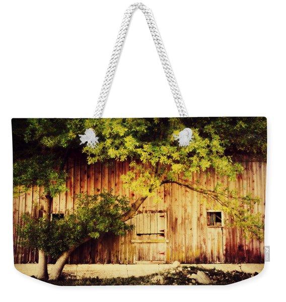 Natures Awning Weekender Tote Bag
