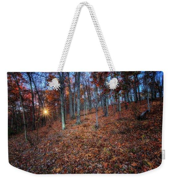Nature's Carpet Weekender Tote Bag