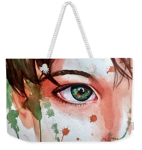 Nature's Child  Weekender Tote Bag