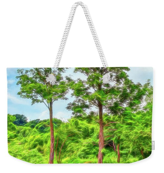 Nature's Electricity Weekender Tote Bag