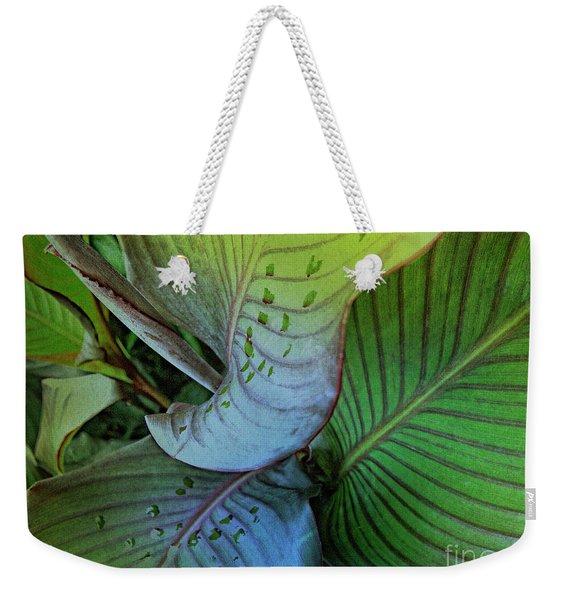 Natures Green Palette One Weekender Tote Bag