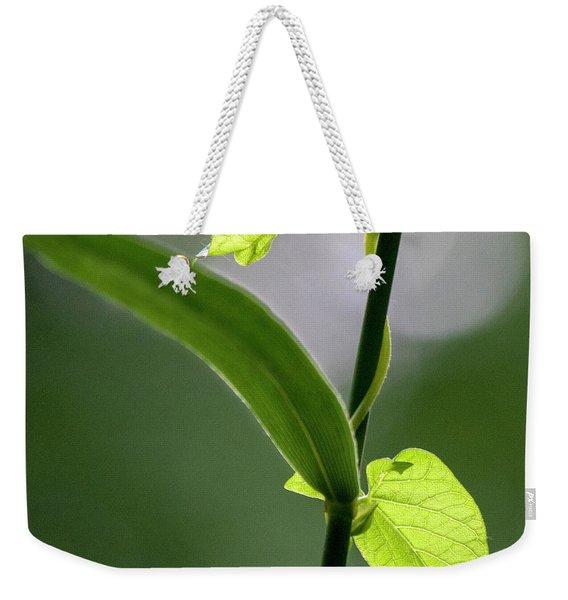 Natures Green Palette Three Weekender Tote Bag