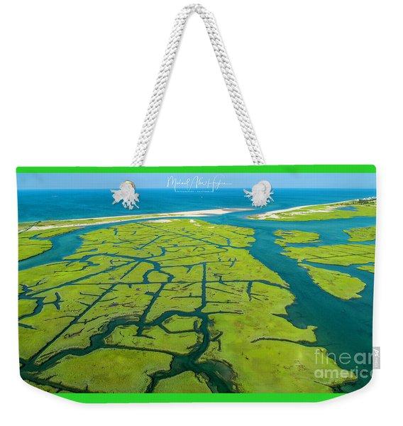 Natures Lines Weekender Tote Bag