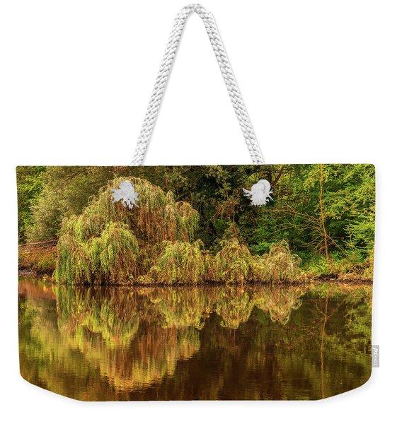 Nature's Mirror Weekender Tote Bag