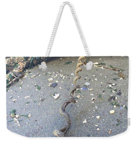 Nature's Spiral Weekender Tote Bag