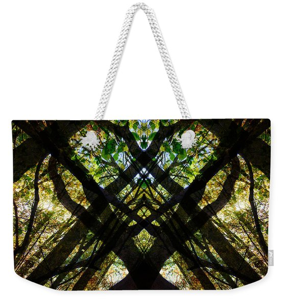 Natures Stain Glass Weekender Tote Bag