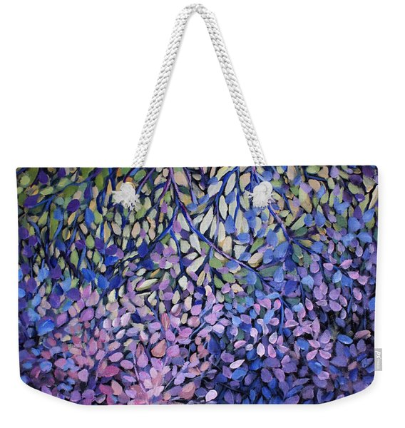Natures Stain Glass Symphony Weekender Tote Bag