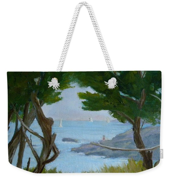Nature's View Weekender Tote Bag