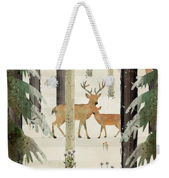 Natures Way The Deer Weekender Tote Bag