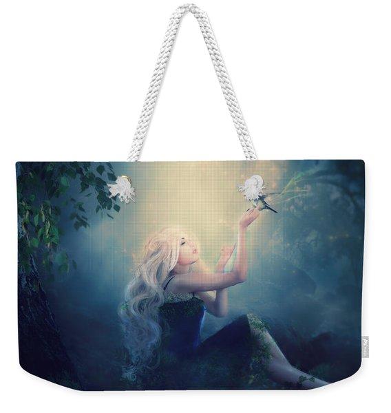 Nature's Wish Weekender Tote Bag