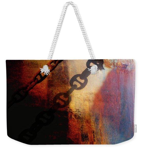 Nautical Industrial Art Weekender Tote Bag