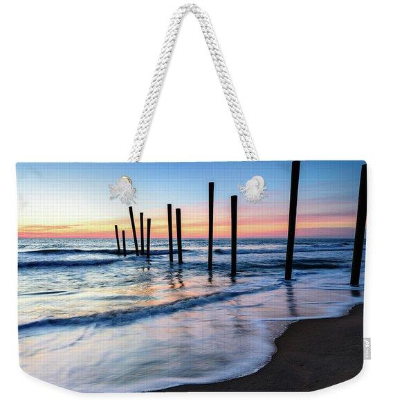 Nautical Morning Weekender Tote Bag