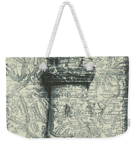 Nautical Way Weekender Tote Bag