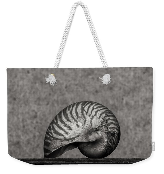 Weekender Tote Bag featuring the photograph Nautilus by Clayton Bastiani