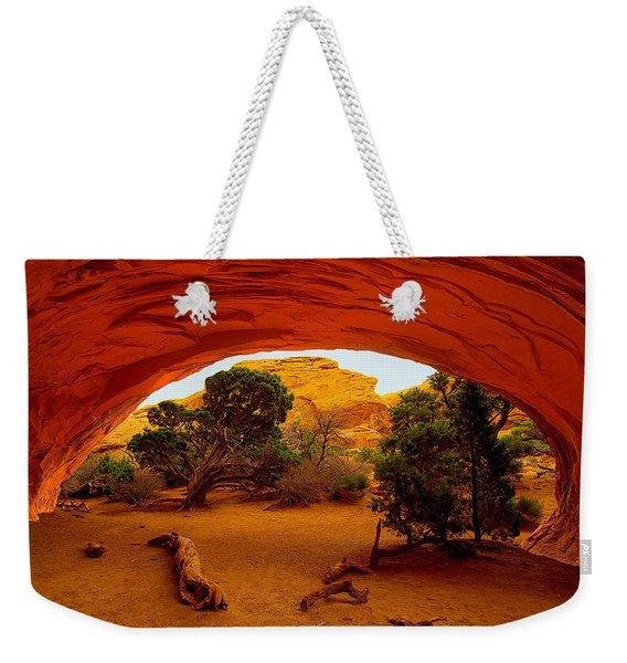 Navajo Arch Weekender Tote Bag