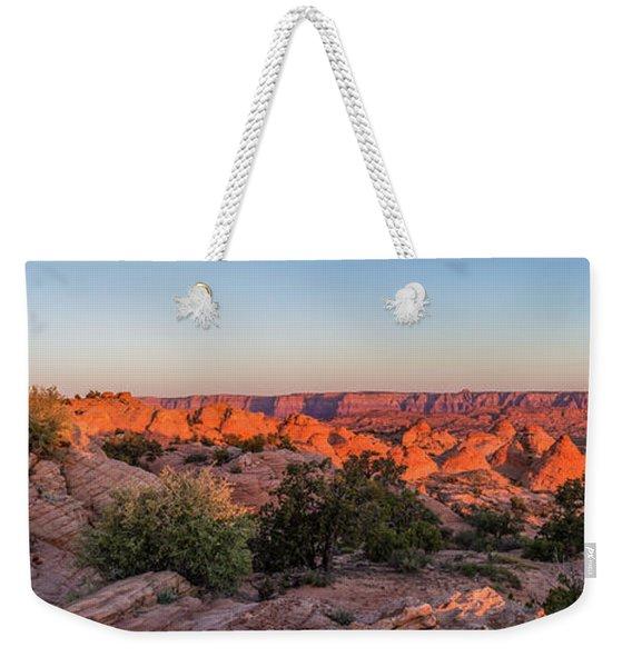 Navajo Land Morning Splendor Weekender Tote Bag