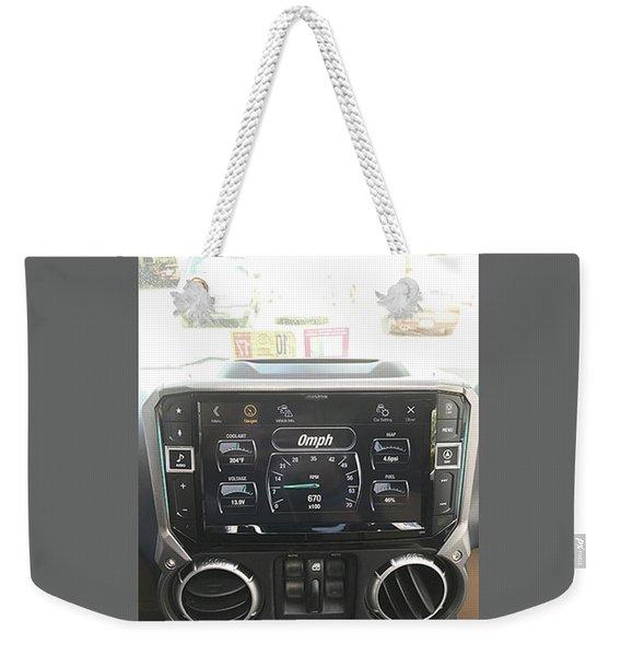 Navigation System Weekender Tote Bag
