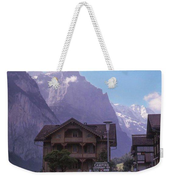 Near Lauterbrunnen, Switzerland Weekender Tote Bag