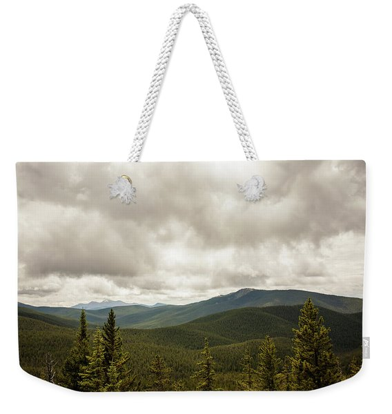 Near Monarch Pass At The Continental Divide Weekender Tote Bag