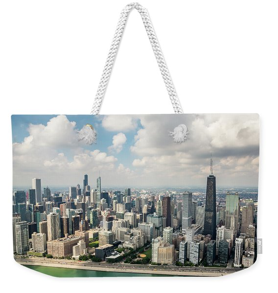 Near North Side And Gold Coast Weekender Tote Bag