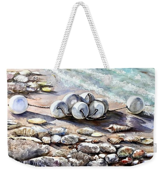 Near The Beach Weekender Tote Bag