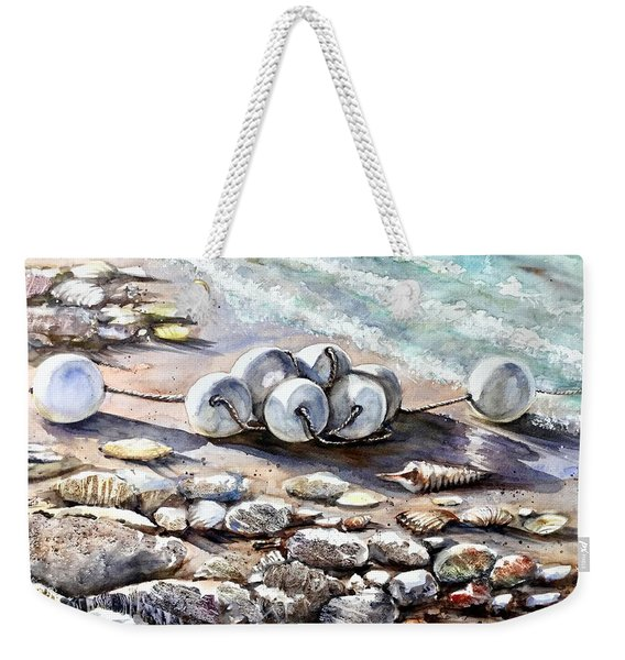Near The Beach Weekender Tote Bag