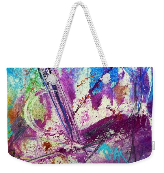 Neath The Starry Sky Weekender Tote Bag