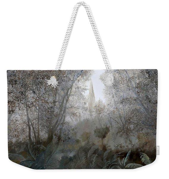 Nebbia Nel Bosco Weekender Tote Bag