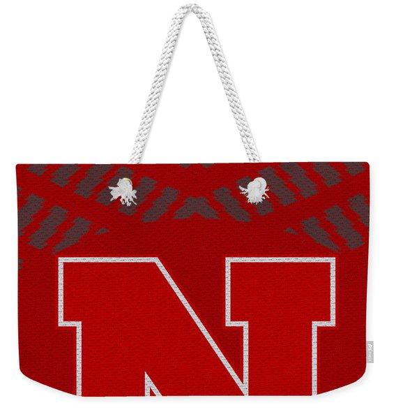 Nebraska Cornhuskers Uniform 2 Weekender Tote Bag