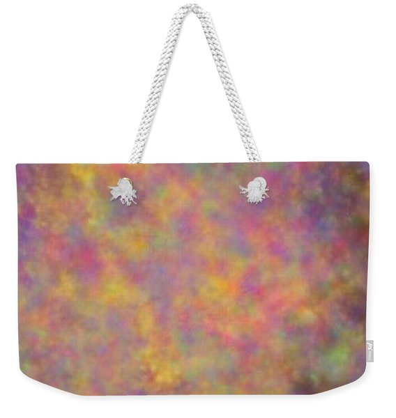 Weekender Tote Bag featuring the mixed media Nebula by Writermore Arts