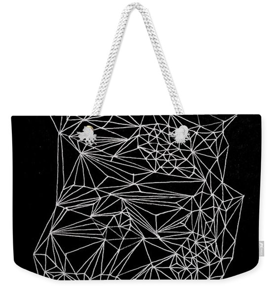 Nebulous Twice Weekender Tote Bag