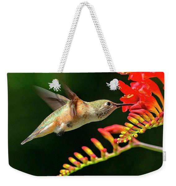Nectar Time Weekender Tote Bag