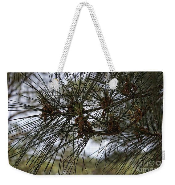 Needles Attached Weekender Tote Bag