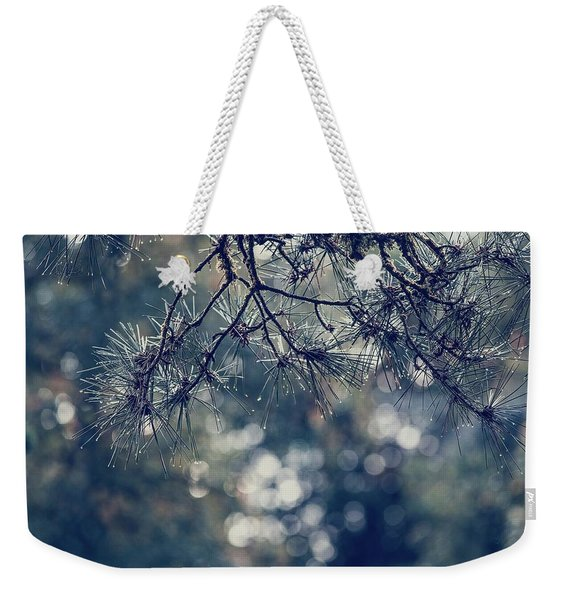 Needles N Droplets Weekender Tote Bag