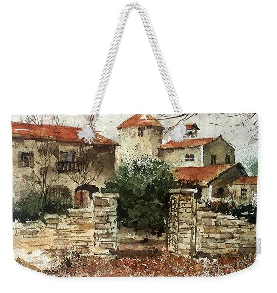Neighbors Gate Weekender Tote Bag
