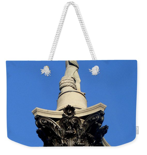 Nelson's Column, Trafalgar Square, London Weekender Tote Bag