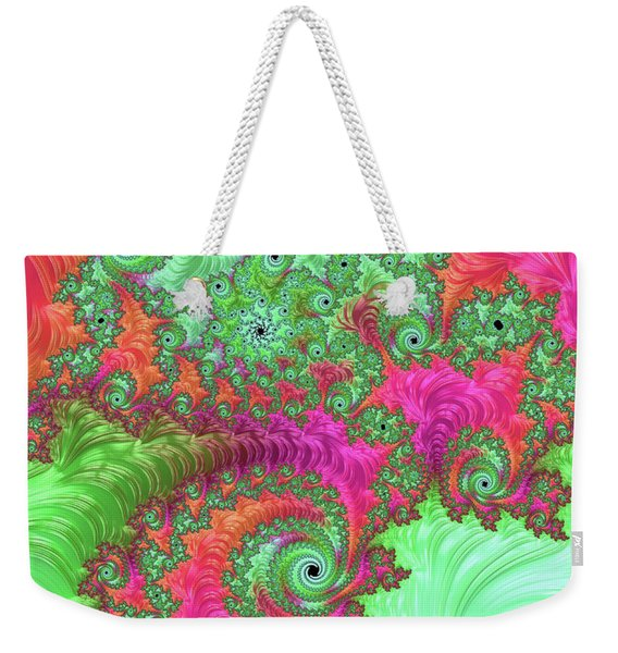 Neon Dream Weekender Tote Bag