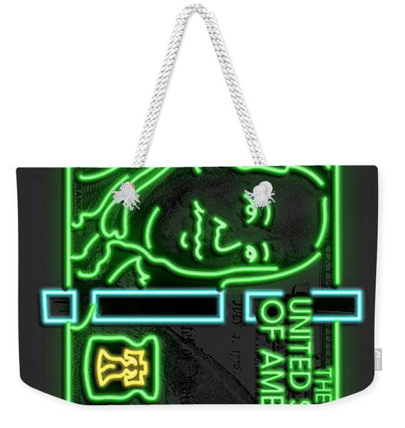 Neon Franks Weekender Tote Bag