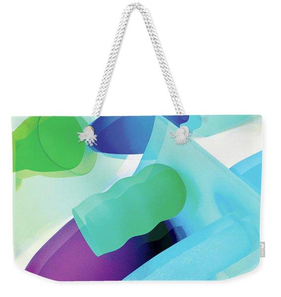 Neon In Sunlight Weekender Tote Bag