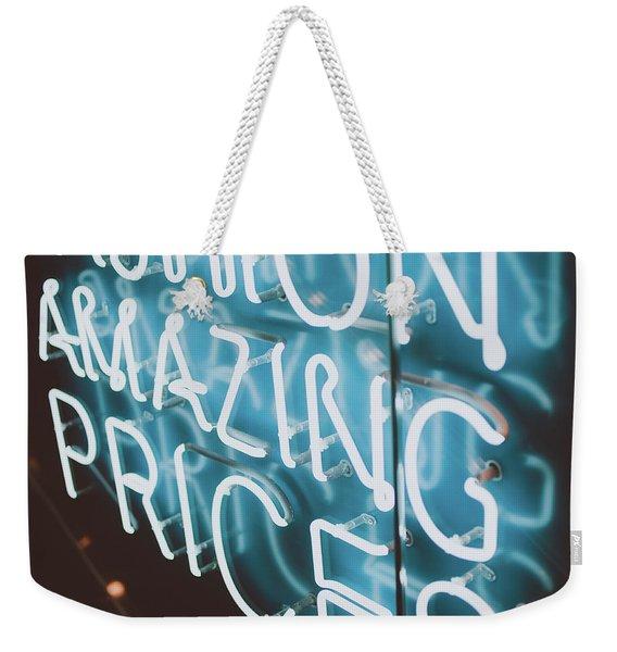 Neons Weekender Tote Bag