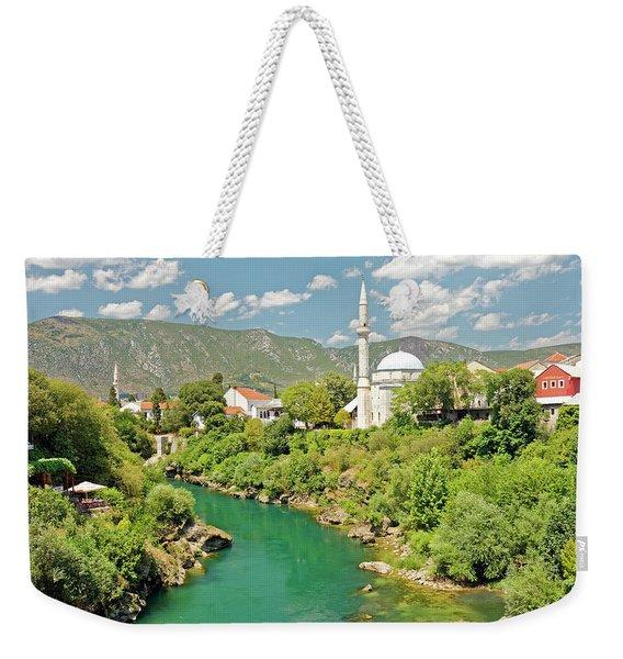 Neretva River Weekender Tote Bag
