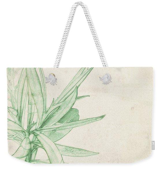 Nerium Oleander Weekender Tote Bag
