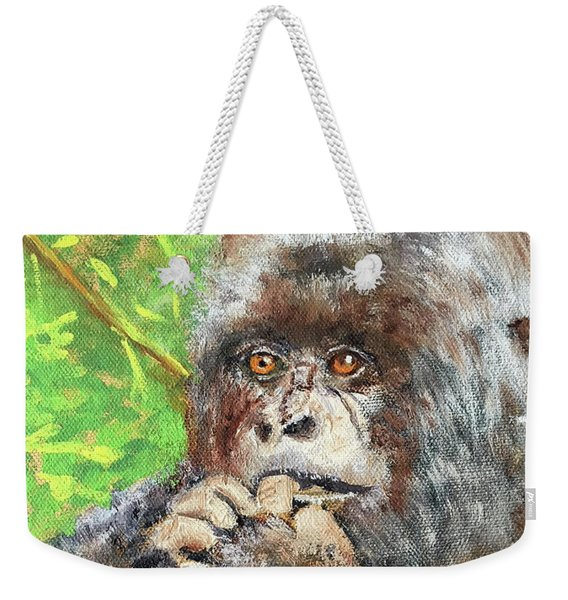 Nervous Mama Gorilla Weekender Tote Bag