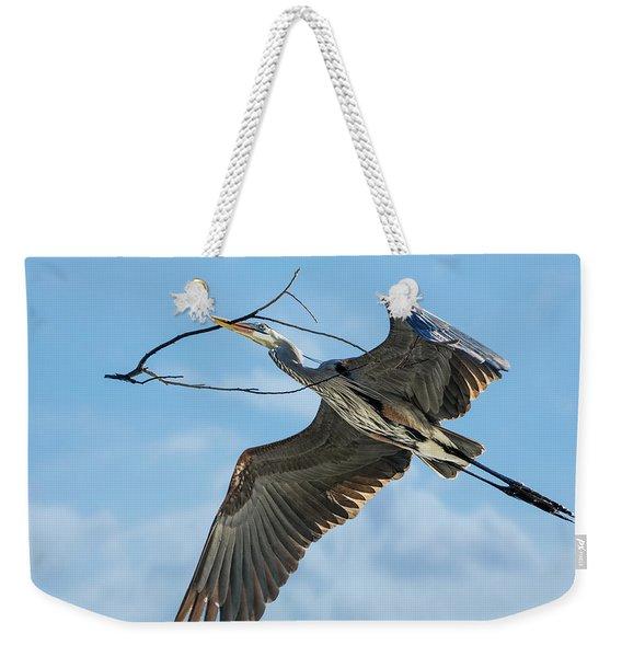 Nest Builder Weekender Tote Bag