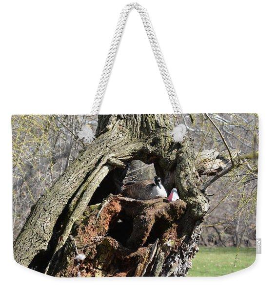 Nesting Weekender Tote Bag