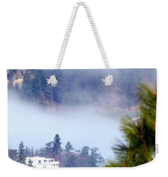Nestled In The Fog Weekender Tote Bag