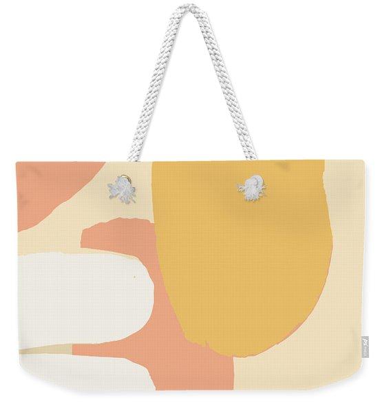 Neutral Abstract Weekender Tote Bag